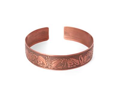 Bracelet en cuivre contre les douleurs